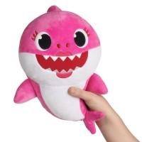 Hot Cartoon Baby Shark soft Dolls Singing English Song Toys for Girl C