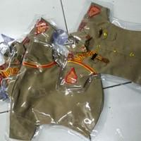 tempelan kaca baju mini cream AKPOL AKMIL AAU