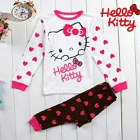 setelan anak hello kitty/baju anak cewe/setelan anak perempuan