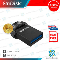 Sandisk Ultra Fit CZ430 64GB - Flash Disk/ Flashdisk 64 GB 3.1