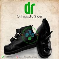 sepatu flat foot /sepatu koreksi / sepatu orthopedi