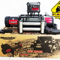 T-MAX MUSCLELIFT EW-9500 (4,3 Ton) Electric Winch 12 Volt High Speed