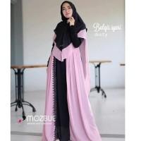 Telaris Baju Gamis Muslim Wanita/ BALQIS SYARI AQ001/ Gamis TerMurah -