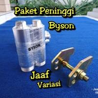 PENINGGI SHOCK DEPAN DAN BELAKANG YAMAHA BYSON