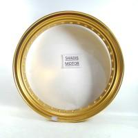 Velg Almini TDR W Shape Warna Gold Ukuran 350 Ring 17