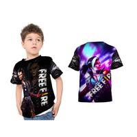 Kaos Baju Tshirt Anak Free Fire - Hayato Fullprint Custom