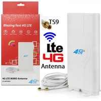 Antena Penguat Sinyal Wifi Modem / Router Huawei ZTE MIMO (Slot TS9)