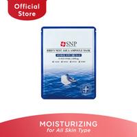SNP Bird's Nest Aqua Ampoule Sheet Mask