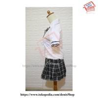 baju stelan wanita Sexy Uniform 002 Seragam Sekolah Japan Berkualitas