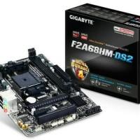 HABISKAN STOK Motherboard Gigabyte GA F2A68HM DS2 soket FM 1356Hw