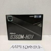 GROSIRAN ASRock B360M HDV LGA1151 B360 DDR4 USB3 1 SATA3 1415Hw Top