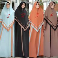 gamis wanita dewasa/dress muslim /baju muslim /busana muslim