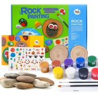 Joan Miro Rock Painting Set kado ultah anak art craft mainan edukasi
