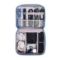 Gadget Organizer Bag Case Tas Aksesoris accesory kabel power bank F327