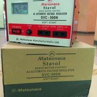 Stabilizer MATSUNAGA Stavol 500 watt Servo Motor/Soft Start/Regulator