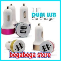 charger mobil 2 port usb