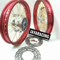 Velg TDR 185 215 Ring 17 Vixion Mx King Byson Scorpio Sepaket Lengkap