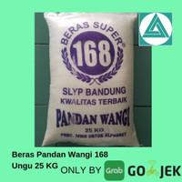 Beras Pandan Wangi Ungu 168 25kg + Bonus