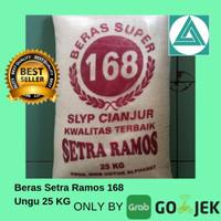 Beras Setra Ramos Ungu 168 25kg + Bonus