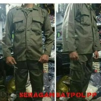 Seragam Pol PP / Baju Dinas Satuan Polisi Pamong Praja / Kemeja Pol PP