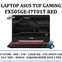ASUS TUF FX505GE-I7T01T i7-8750/8GB/1TB+128GB SSD/GTX1050Ti 4GB/Win10