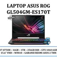 Asus ROG GL504GM ES170T Hero 2 I7-8750H/16GB/1TB+256GB/GTX1060 6GB/W10