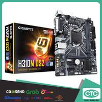 MOTHERBOAD GIGABYTE H310M-DS2, DDR4, SOC 1151. GARANSI RESMI 3 TAHUN