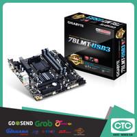 GIGABYTE 78LMT-USB3, SOC AM3+, DDR3. GARANSI RESMI 3 TAHUN