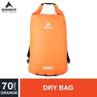 Eiger Dry Bag Strap 70L - Orange