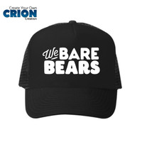Topi We Bare Bears - Panda Grizzly Ice Bears - By Crion