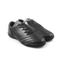 Ortuseight Utopia IN JR (Sepatu Futsal Anak/Junior) - Black/Fluo Green