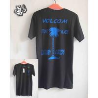 Baju Kaos distro surfing Volcom Black 19