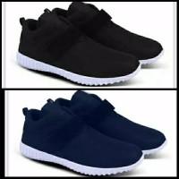 Sepatu Kets Sneakers Kasual Pria Wanita Sepatu Sekolah SMA Anak Unisex