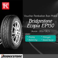Ban Mobil Bridgestone Ecopia EP150 205/70R15 Vocer