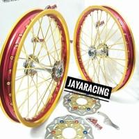 Velg TDR ring 17 Satria Fu Jupiter Mx Sonic 150 Sepaket plus stel
