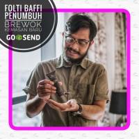 FOLTI BAFFI CREAM PENUMBUH JENGGOT, BREWOK, JAMBANG, KUMIS, ALIS