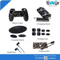 Game Accessories Super Kit PS4 Slim Pro OIVO 15 in 1