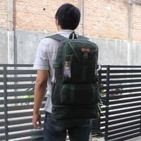 Tas Ransel Backpack Hiking Traveling Outbound Kanvas Cowok Cewek