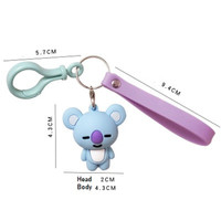 BT21 Animation KEYCHAIN / Gantungan Kunci / Gantungan pada Tas KPOP