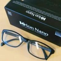 Kacamata Terapi K-ion Nano Hitam/Black Reguler 100% Dijamin Original !