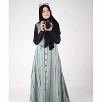 Dannis Abaya Dewasa Keren Terbaru Motif Baju Muslim Perempuan Gamis
