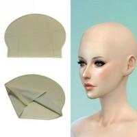 Wig Botak / Wig Bald cap