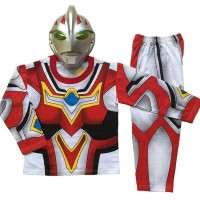 Hot Sale Baju Anak Kostum Topeng Superhero Ultraman Go Kualitas