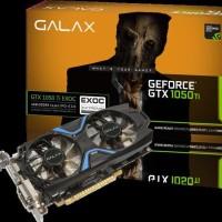 GALAX GeForce® GTX 1050 Ti EXOC 128-bit 4GB DDR5, Dual Link-DVI-D