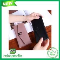FTS155 - BEAU Dompet Panjang Wanita Import Batam Branded Kulit Quality