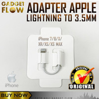 Adapter Lightning to 3.5mm AUX Female iPhone 7 8 X XR XS Max ORIGINAL