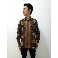 Kemeja lengan panjang ayoda batik hem pria Promo Ramadahan