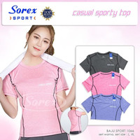 Kaos Sorex Sport 1066 Atasan Baju Senam Gym