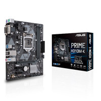 Motherboard Asus Prime H310M-K (LGA1151, H310, DDR4, USB3.1, SATA3)