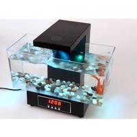 Desktop USB Mini Aquarium Mini Akuarium Fish Tank USB 2013-D